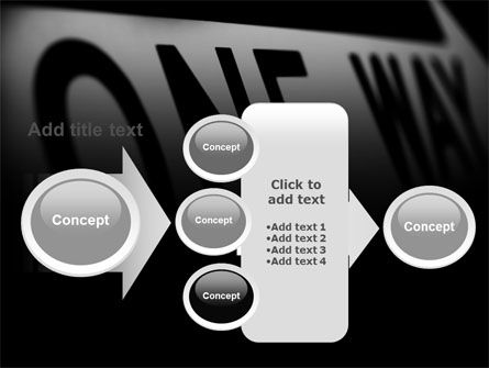 One Way PowerPoint Template Slide 17