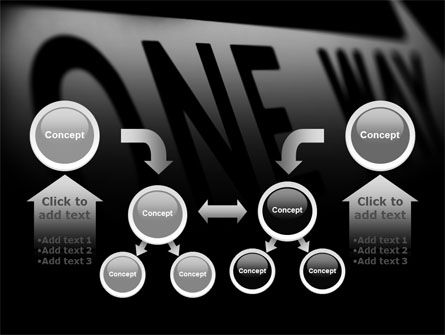One Way PowerPoint Template Slide 19
