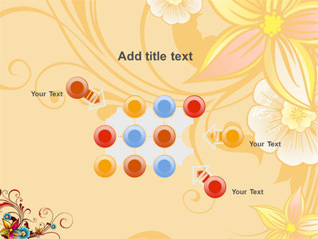 Blossom Pattern PowerPoint Template Slide 10