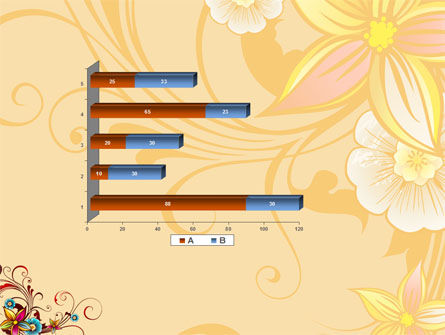 Blossom Pattern PowerPoint Template Slide 11