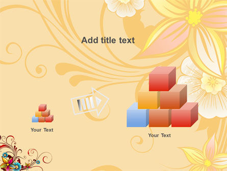 Blossom Pattern PowerPoint Template Slide 13