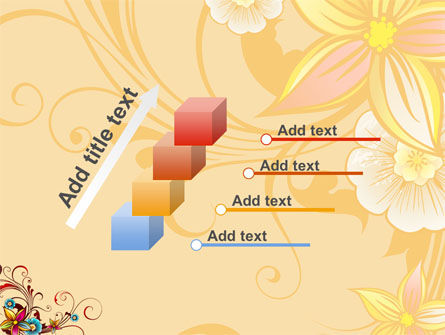 Blossom Pattern PowerPoint Template Slide 14