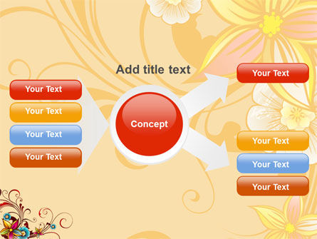 Blossom Pattern PowerPoint Template Slide 15