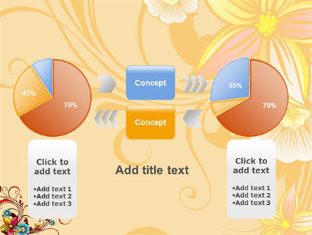 Blossom Pattern PowerPoint Template Slide 16