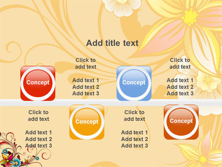 Blossom Pattern PowerPoint Template Slide 18