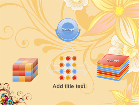 Blossom Pattern PowerPoint Template Slide 19