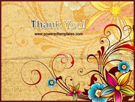 Blossom Pattern PowerPoint Template Slide 20