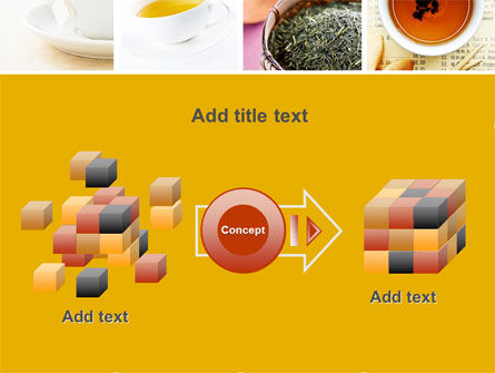Tea Collage PowerPoint Template Slide 17