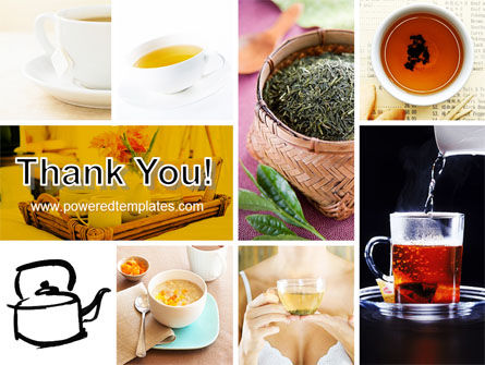 Tea Collage PowerPoint Template Slide 20
