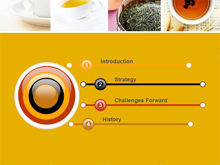 Tea Collage PowerPoint Template Slide 3