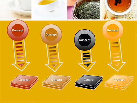Tea Collage PowerPoint Template Slide 8