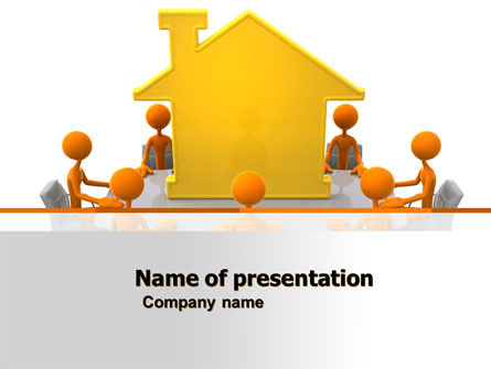 Consulting: Building Project Conference PowerPoint Template #04874