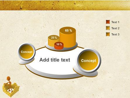 Mason At Work PowerPoint Template Slide 6