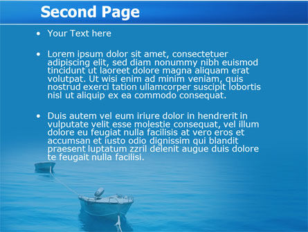 Motor Boats PowerPoint Template Slide 2
