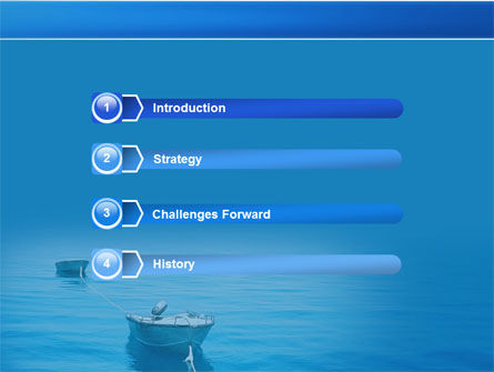 Motor Boats PowerPoint Template Slide 3