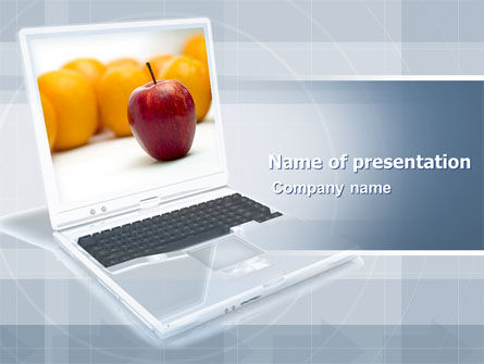 Computers: Concept Design PowerPoint Template #04881