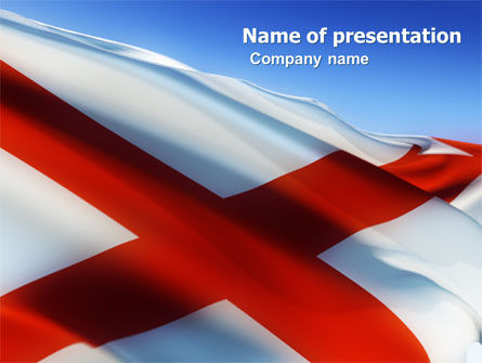 Flags/International: Alabama Free PowerPoint Template #04883