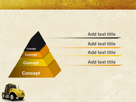 Loader PowerPoint Template, Slide 4, 04884, Cars and Transportation — PoweredTemplate.com