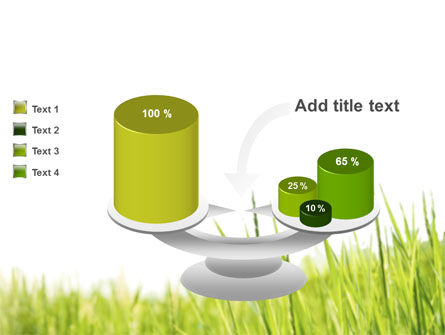 Green Grass Under Blue Sky PowerPoint Template Slide 10