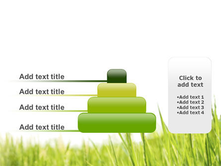 Green Grass Under Blue Sky PowerPoint Template Slide 8