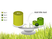 Green Grass Under Blue Sky PowerPoint Template#10