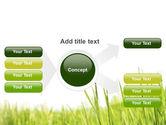 Green Grass Under Blue Sky PowerPoint Template#14