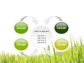 Green Grass Under Blue Sky PowerPoint Template#6