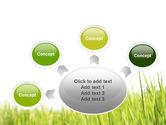 Green Grass Under Blue Sky PowerPoint Template#7