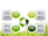 Green Grass Under Blue Sky PowerPoint Template#9