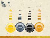 Down Shift Free PowerPoint Template#7