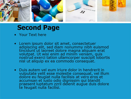 Pharmacy Collage PowerPoint Template, Slide 2, 04889, Medical — PoweredTemplate.com