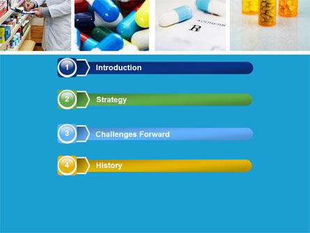 Pharmacy Collage PowerPoint Template, Slide 3, 04889, Medical — PoweredTemplate.com