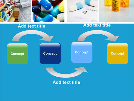 Pharmacy Collage PowerPoint Template, Slide 4, 04889, Medical — PoweredTemplate.com