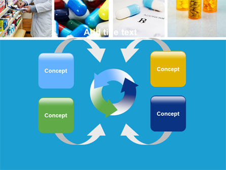 Pharmacy Collage PowerPoint Template Slide 6