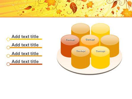 Sunny Autumn PowerPoint Template Slide 12