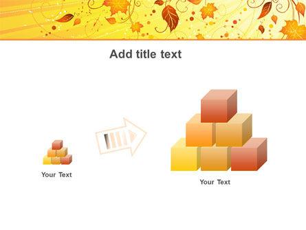Sunny Autumn PowerPoint Template Slide 13