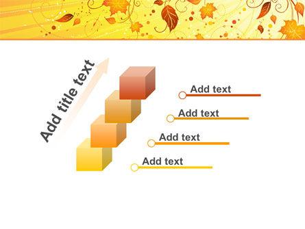 Sunny Autumn PowerPoint Template Slide 14