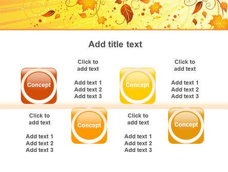 Sunny Autumn PowerPoint Template Slide 18