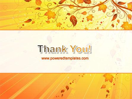 Sunny Autumn PowerPoint Template Slide 20