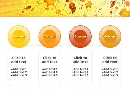 Sunny Autumn PowerPoint Template Slide 5