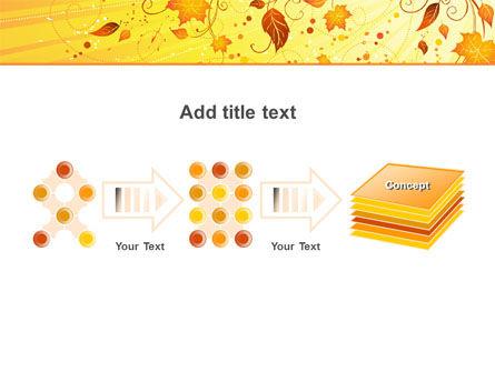 Sunny Autumn PowerPoint Template Slide 9