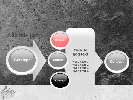 Megaphone PowerPoint Template Slide 17