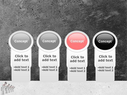 Megaphone PowerPoint Template Slide 5