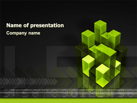 Emerging Technologies PowerPoint Template, 04893, Abstract/Textures — PoweredTemplate.com