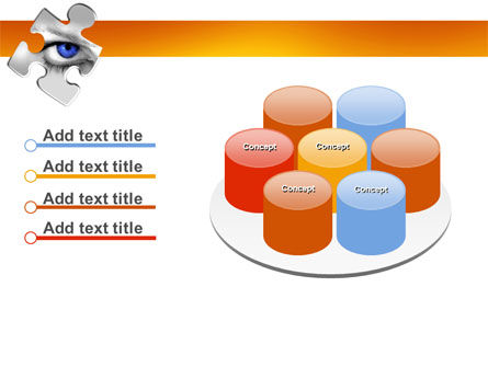 Eye PowerPoint Template Slide 12