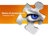 Consulting: Eye PowerPoint Template #04894