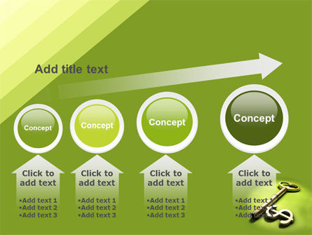 Financial Key PowerPoint Template Slide 13