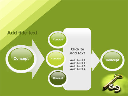 Financial Key PowerPoint Template Slide 17