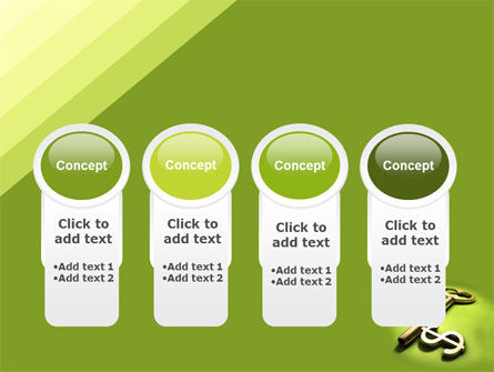 Financial Key PowerPoint Template Slide 5