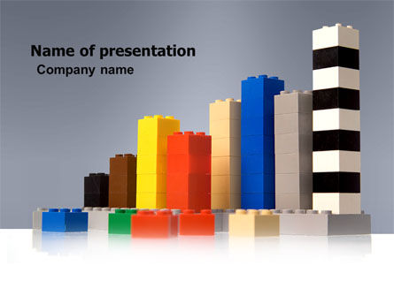 Business: Lego Land PowerPoint Template #04897